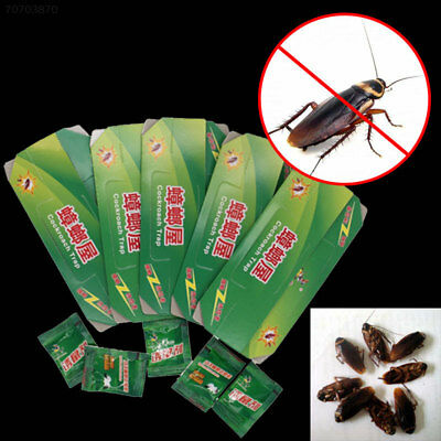 5370 Cockroach Killer Killing Sticky Catcher Traps Cockroaches House Design*