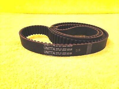 Lot of 2 Unitta Powergrip 187L037 Timing Belt 187L 037 New