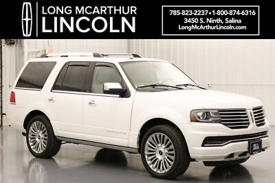 2015 Lincoln Navigator RESERVE 4X4 3.5 V6 ECOBOOST SPORT UTILITY VEHICLE ULTIMATE LUXURY STYLE WITH ZIRICOTE WOOD TRIM AND LEATHER STITCHED DASH