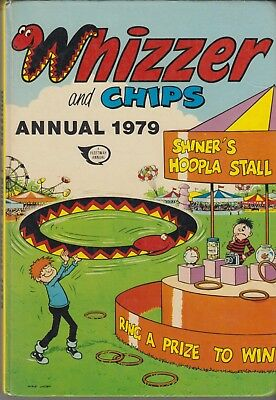 Hardback. Whizzer and Cips Annual 1979