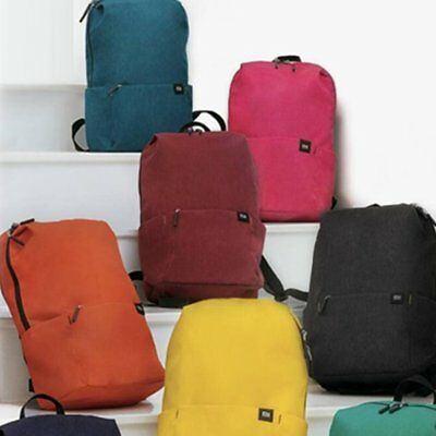 Leisure sports Backpack Pure Color Shoulder BW