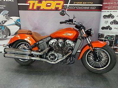 Indian SCOUT 1133 ICON SPECIAL SUNBLAZE ORANGE ONLY ONE IN UK,NEW £11699