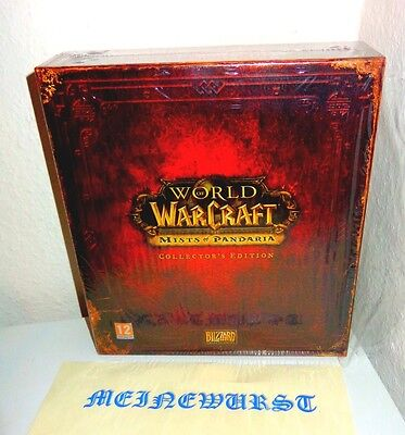Wow Mists of Pandaria - Collector's Edition LEER EMPTY BOX World of Warcraft