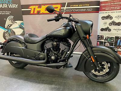 Indian CHIEF DARKHORSE 2019 1133cc 5 YEARS WARRENTY,NOW IN, £17999