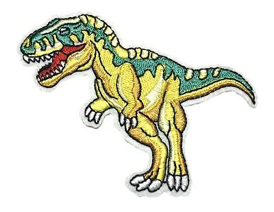 Jurassic Dinosaur Embroidered Patch, NEW UNUSED
