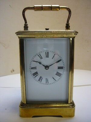 Antique Brass Striking/Repeating French Carriage Clock for Restoration