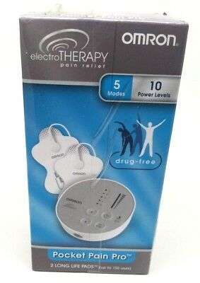 OMRON ELECTRIC THERAPY POCKET PAIN PRO 5 MODES 10 POWER LEVELS PM3029 Box Damage