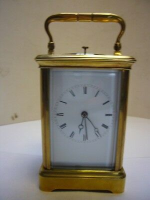 Antique French Striking/Repeating Carriage Clock for Repair