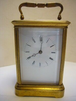 Antique Gilded Striking French Carriage Clock for Restoration
