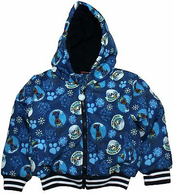 Paw Patrol Boys Lets Snow Winter Padded Jacket with Hood