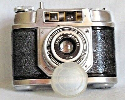 Halina 6-4 120 Film Camera + Lens Cap . Good Working Condition (Used)