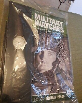 Eaglemoss Military Watches Collection No.12 British Paratrooper -  sealed.