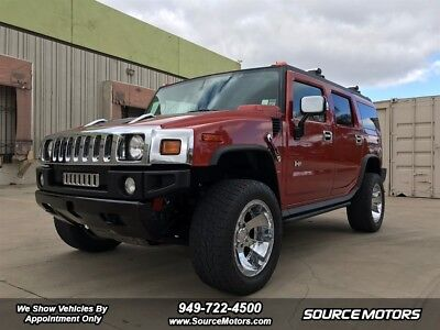 2004 Hummer H2 Adventure Series 2004 Hummer H2 SUV, Leather, Side Steps, Leather, Bose, 4x4,