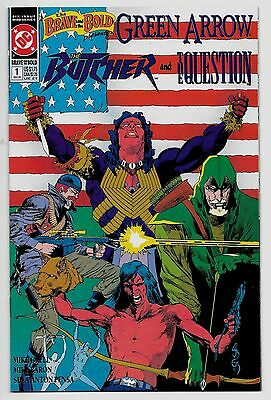 Brave & the Bold V2 #1 (Dec, 1991) Starring Green Arrow by Mike Grell NM 9.4