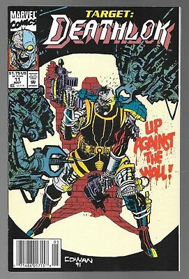 Deathlok #11 (May, 1992) Newsstand Edition Dwayne McDuffie Denys Cowan VF/NM 9.0