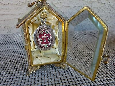✝ Reliquary Relic TRUE CROSS D.N.J.C. one of kind Very Rear