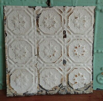 *architectural antique salvaged American tin ceiling tile Ohio vintage medium**