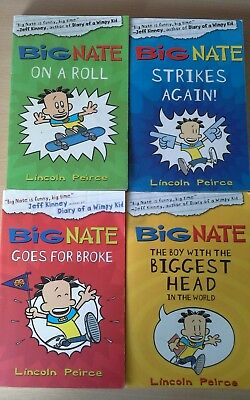 Big Nate collection of 4 books by Lincoln Peirce