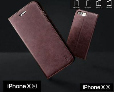 Genuine Musubo iPhone Xs Max X SE 5 6 7 8 Case PU Leather Luxury Wallet Cover