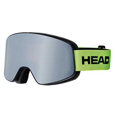 Head Schneebrille Horizon Race lime  inkl extra Scheibe -- Modell 18/19  Neuware