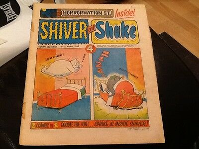 SHIVER AND SHAKE  Paper comic 1973 ISSUE NUMBER 6 Still in Very good condition