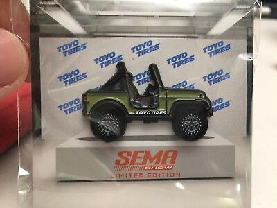1979 Jeep CJ-7 Pin 2018 SEMA Exclusive Limited Edition Toyo Tires 1/1000