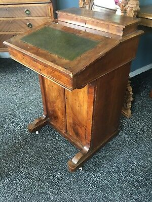 Early 19th Century Walnut Davenport Desk Antique Vintage DELIVERY AVAILABLE