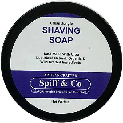 Shaving Soap All Natural Urban Jungle Shaving Soap 6oz By Spiff And Co