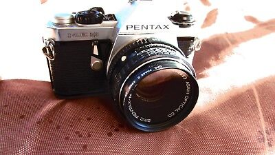 Vintage Factory Pentax Me Super 35Mm Camera With Factory 50Mm Lens