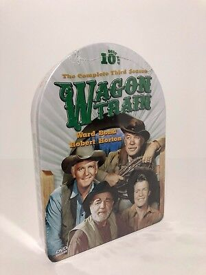 Wagon Train: The Complete Third Season 3 (DVD, 10-Disc Set) (New Factory Sealed)