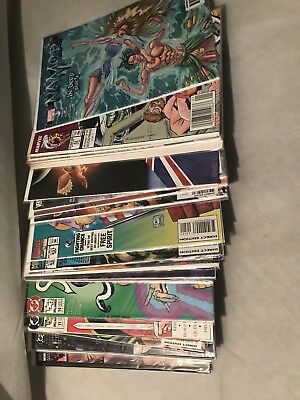 Huge Comic Book Lot 35 Marvel Dc Indy Superman Batman X-Men No Duplicates