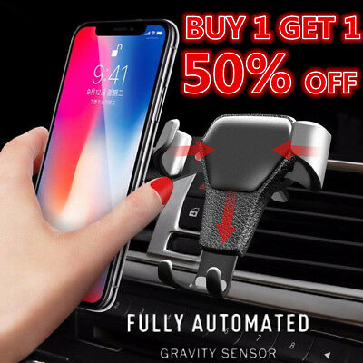 Gravity Car Air Vent Mount Cradle Holder Stand for iPhone Samsung GPS Cell Phone