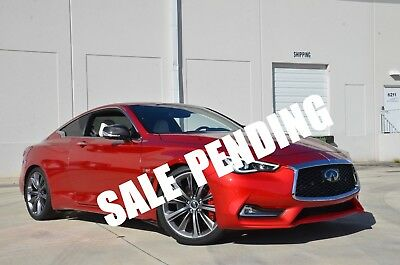 2017 Infiniti Q60 Red Sport 400 Q60 Red Sport 400 63k MSRP Fully Loaded EVERY OPTION Carbon Radar Cruise