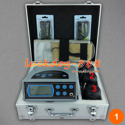 LCD Ion Ionic Cell Aqua Foot Bath SPA Detox Cleanse Machine & Infrared Belt CE