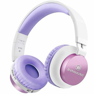 Bluetooth Headphones, BT60 Lightweight Foldable Wireless Headset With Microphone