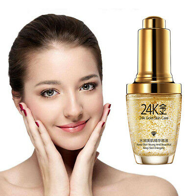 Whitening Moisturizers Serum 24K Gold Essence Face Cream