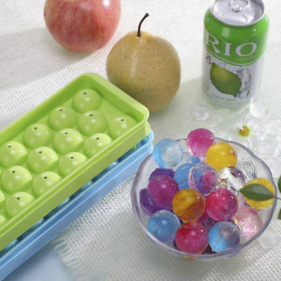 14 Whiskey PP Ice Cube Bar Ball Maker Sphere Mould Molds Party Tray Round