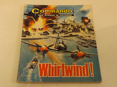Commando War Comic Number 640 !,1972 Issue,good For Age,46 Years Old,v Rare.