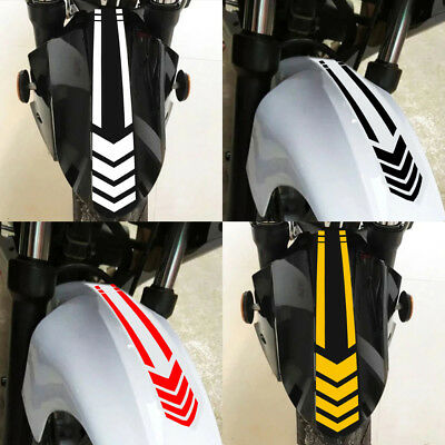 Wheel  Arrow Tape Reflective Decal Motorcycle Stickers  Car Decals On Fender