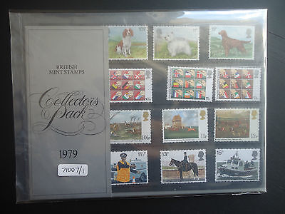 Great Britain Commemoritives Collectors Pack 1979 MNH CAT £12 (71007/1)