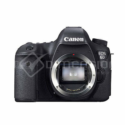 Canon EOS 6D DSLR Camera Body Brand New(Multi Languages) (Ship From EU)