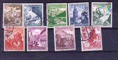 Germany Stamps, Deutche Reich 1939, #748-50 Used
