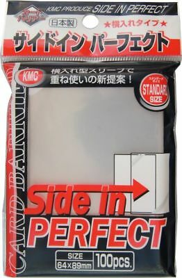 100 Side In PERFECT SIZE Deck Protectors KMC Perfect Fit MTG MAGIC