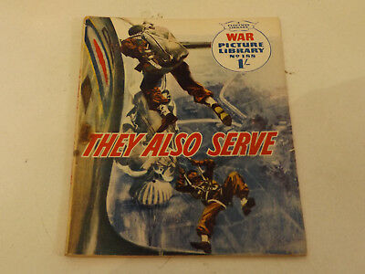 WAR PICTURE LIBRARY NO 188 !,dated 1963 !,GOOD for age,great 55 !YEAR OLD issue.