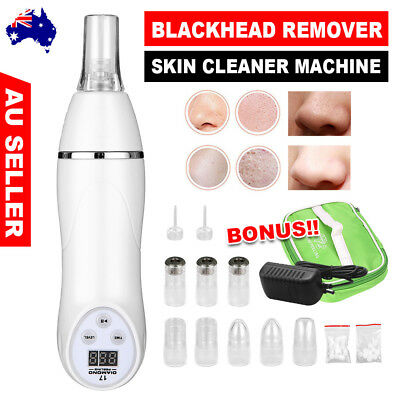 Microdermabrasion Blackhead Remover Vacuum Beauty Skin Cleaner Machine