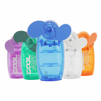 Mini Portable Pocket Fan Cool Air Hand Held Battery Travel Holiday Blower Newly