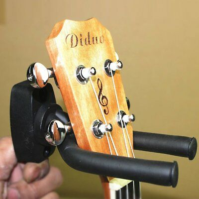 2x Guitar Wall Mount Hanger Stand Holder Hooks Display Acoustic Electric Bass QM