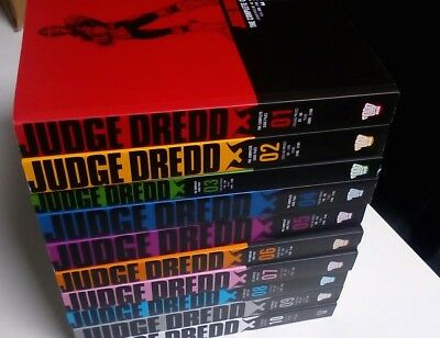 Judge Dredd Complete Case Files Bundle 1-10 collection Books Set