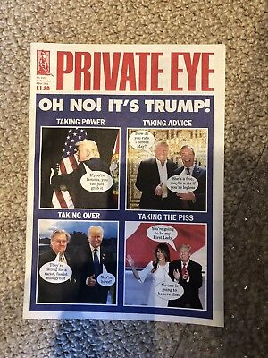 Private Eye Edition 1432 Trump Wins US Election