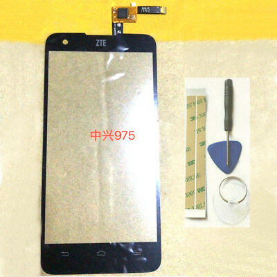 Touch Screen Digitizer Glass Replacement For ZTE Geek V975+Tools 3M Tape